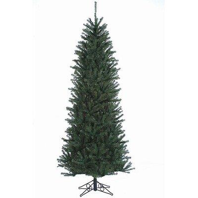 7.5' Green Slim Alexandria Pine Artificial Christmas Tree