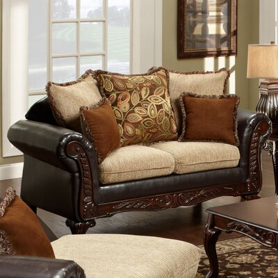 724300-L WCF1366 Chelsea Home Trixie Loveseat