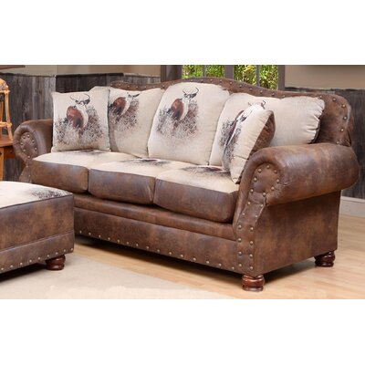 4069-S WCF1720 Chelsea Home Big Buck Sofa