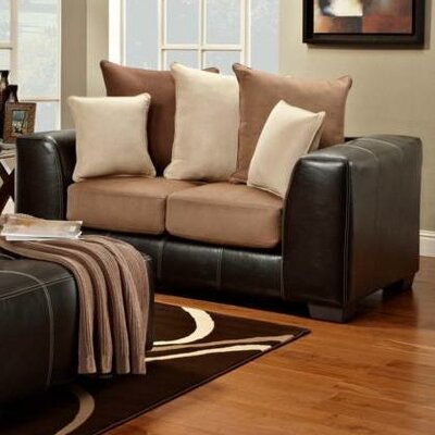 6302-SRS WCF1672 Chelsea Home Landon Loveseat