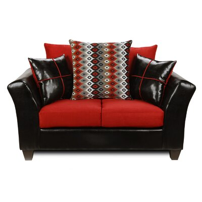 294170-L-CR WCF1695 Chelsea Home Cynthia Loveseat