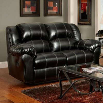 1002-TB WCF1653 Chelsea Home Ambrose Reclining Loveseat