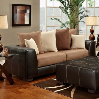 6303-SRS WCF1701 Chelsea Home Landon Sofa