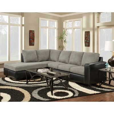Harford Sectional Upholstery: Sensations Grey