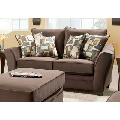 183852-4041-FE WCF1964 Chelsea Home Cupertino Loveseat
