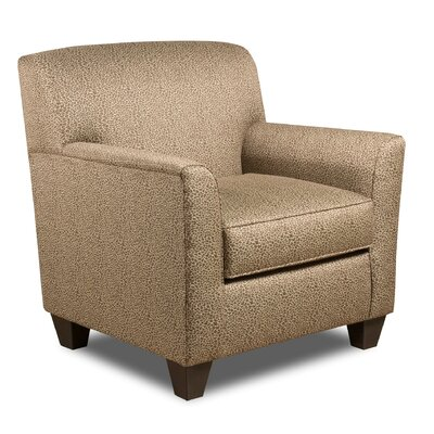 Zaire Armchair Color: Wild One Chocolate