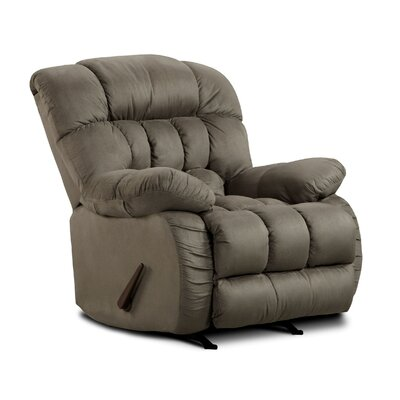 Milo Rocker Recliner Upholstery: Softsuede Graphite