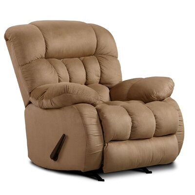 Milo Rocker Recliner Upholstery: Softsuede Taupe
