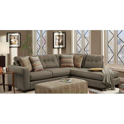 Phoenix Sectional Upholstery Fandango Mocha