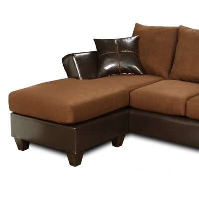 294165-S-DM WCF1659 Chelsea Home Peyton Chaise Sofa