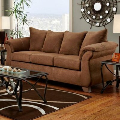 Payton Sofa Upholstery: Aruba Chocolate