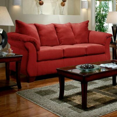 Payton Sofa Upholstery: Red Brick