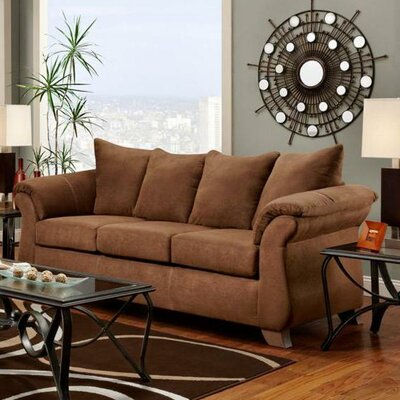 Payton Sleeper Sofa Upholstery: Aruba Chocolate