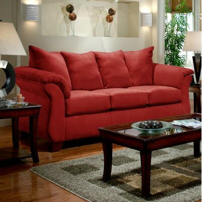 Payton Sleeper Sofa Upholstery: Red Brick