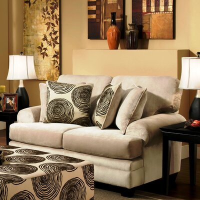 738642-10-GENS-35282 WCF1874 Chelsea Home Rayna Loveseat