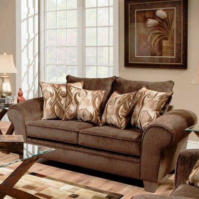 730910-1013-26012 WCF1867 Chelsea Home Jewel Loveseat
