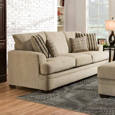 Calexico Sofa Upholstery: Cornell Platinum