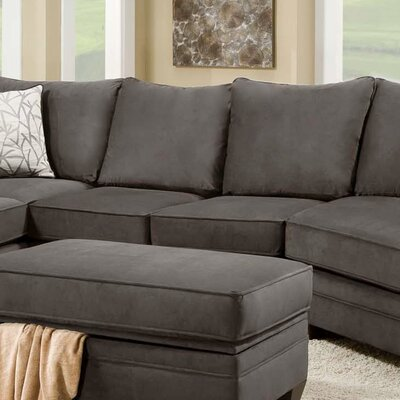 Cupertino Armless Loveseat Upholstery: Flannel Seal