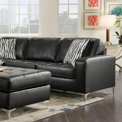 Zaire Right Side Facing 1 Arm Loveseat Upholstery: Oregon Gunmetal