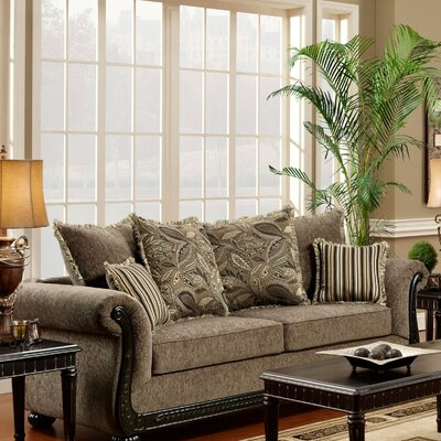 Carol Sofa Upholstery: Dream Java