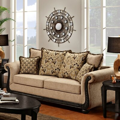 Carol Sofa Upholstery: Delray Taupe