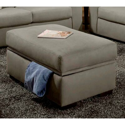 Rockland Storage Ottoman Upholstery: Victory Lane Dolphin