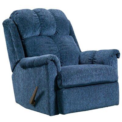 Rocker Recliner Upholstery: Tahoe Blue