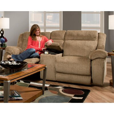 18AF3302-6450-TF CHFC3075 Chelsea Home Howard Reclining Loveseat