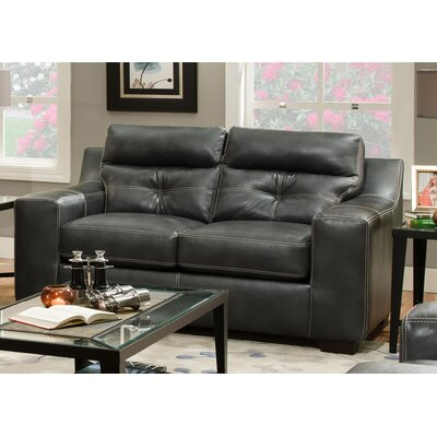 181302-8810-OC CHFC3094 Chelsea Home Leather Loveseat