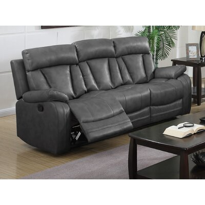 8172004-93-S CHFC3064 Chelsea Home Leverett Leather Reclining Sofa