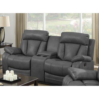 8172004-95-LS CHFC3063 Chelsea Home Leverett Leather RecliningLoveseat