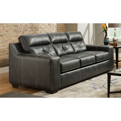 181307-8810-OC CHFC3093 Chelsea Home Aragon Leather Sofa