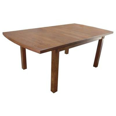 Basswood Dining Table Finish: Medium Oak