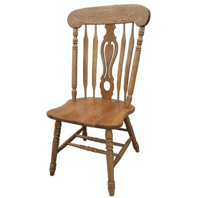 Jayme Side Chair Finish: Harvest Oak