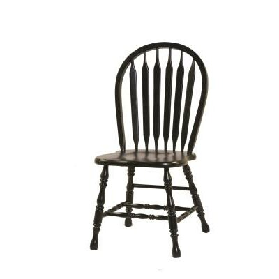 Isley Side Chair Finish: Black