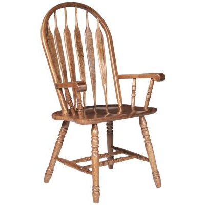 Iden Arm Chair Finish: Medium Oak