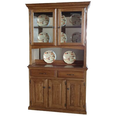 Phyre China Cabinet Color: Harvest Oak