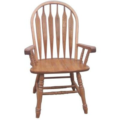 Iden Arm Chair Finish: Harvest Oak