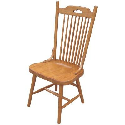 Jory Solid Wood Dining Chair Finish: Harvest Oak