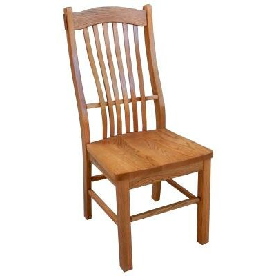 Side Chair Finish: Harvest Oak