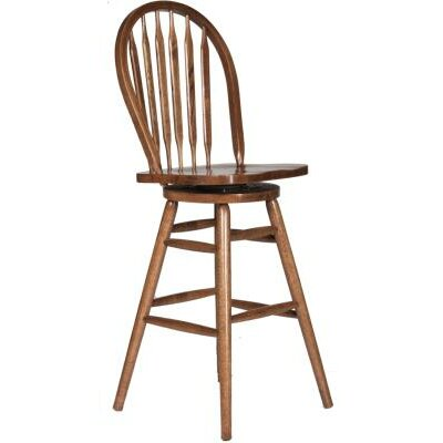 30 Bar Stool Finish: Medium Oak