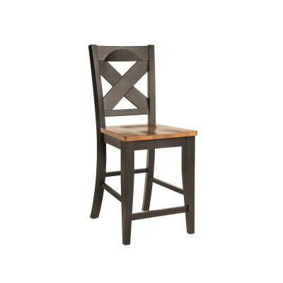24 Bar Stool Finish: Pecan & Almond