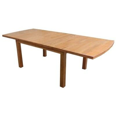 Basswood Dining Table Finish: Harvest Oak