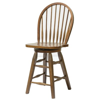 24 Bar Stool Finish: Tobacco