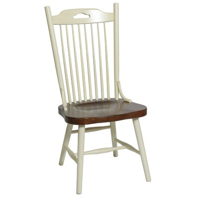 Belchertown Side Chair Finish: Buttermilk & Cherry