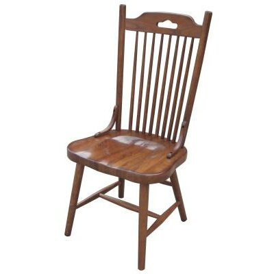 Jory Solid Wood Dining Chair Finish: Burnished Walnut