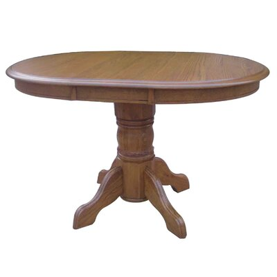 Sandalwood Extendable Dining Table Finish: Harvest Oak