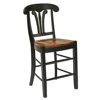 Adams 24 Bar Stool Finish: Harvest & Black
