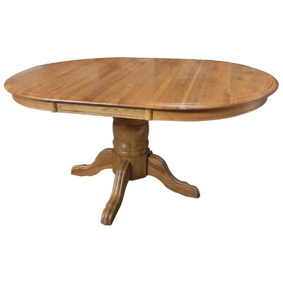 Sourwood Dining Table Finish: Harvest Oak
