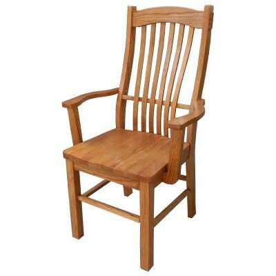Solid Wood Dining Chair Finish: Harvest Oak